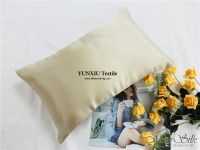 19mm mulberry silk pillowcase with zipper opening high quality low MOQ