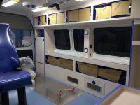 China 4x2 gasoline/ diesel ambulance emergency vehicles