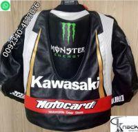 motorbike jacket manufacture bikerfashion kawasak ladybikers suit suzu