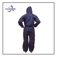 Nonwoven Disposable Coverall working Uniform Labor Protection