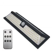 118Led 5W Outdoor Solar Motion Sensor Wall Lights with remote control system