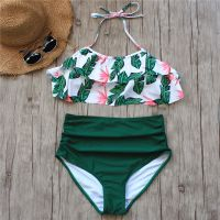 Wholesale the latest women swimwear bikini set one piece swimsuit