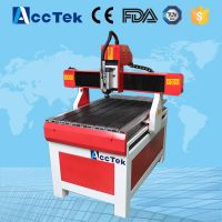 Multifunction wood carving machine beauty typ cnc router 6090, 1.5KW water cooled spindle mini cnc machine