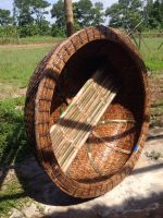 Bamboo Mini Basket Boats - Bamboo Coracle - Fishing Boats from Vietnam
