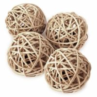 Decorative rattan ball/rattan ball lamp Christmas ornament ball