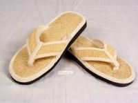 SLIPPERS MADE FROM LOOFAH
