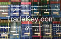 Cheap wholesale stripe handkerchief polyester to Kenya