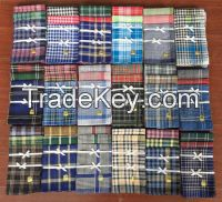 good quality wholesale cheap cotton men's handkerchief