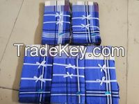 Cheap wholesale stripe handkerchief polyester to Kenya