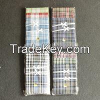 good quality wholesale cheap cotton men's handkerchief