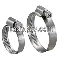 Non-perforated Hose Clamp- 9mm Band Width