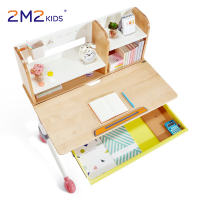 2M2KIDS adjustable kids study desk chair height adjustable best kids writing table and chair