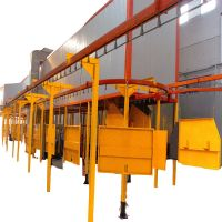 Well-Designed Powder Coating Equipment Line at Competitive Price