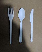 PLA biodegradable utensil set