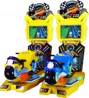 crazy motor kiddie ride ticket game machine kid play amusement land