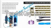 Facial Liposuction cannula set with Luer Lock.