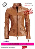Women's Leather Casual Jackets