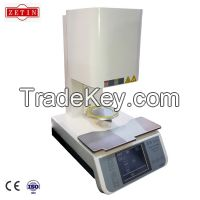 1300c touch screen dental lab porcelain firing furnace made in china