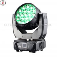 stage light LED moving head beam zoom wash mac aura rgbw dj light