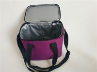 hot sale durable canvas&polyester thermos bag lunch bag