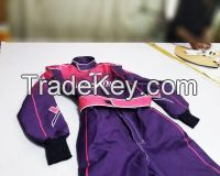 Karting Race suit/ Go kart race suit/ Karting race suits/ Custom embroided OEM kart racing suits