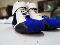 Karting shoes/ Racing shoes/ Youth racing shoes/ karting shoes sale/ go kart race shoes Customized Embroided OEM race shoes/ boots