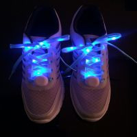 ABS nylon led flashing shoelace