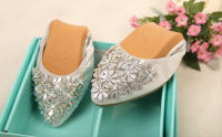 soft outsole women shoes with reinstone cheapest price wholesale price