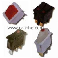 Factory Sale 6a 250vac on off on KCD series rocker switch jinhe china