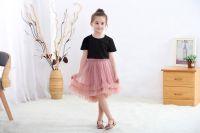 Frilled Tulle Skirt For Kids
