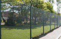 PVC Coated Galvanized Welded Wire Mesh 358 High Security Fence