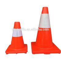 30cm ,45cm,70cm,90cm PVC traffic cone unbreakable traffic cone flexible traffic cone eco-friendly material