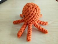 Pet Teeth Cleaning Dog Toy Octopus
