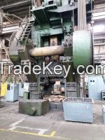 used hot forging press