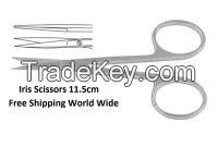 Iris Dedicated Scissors Straight or Curved 11.5 cm