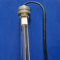 80W 843mm 4 pin waterproof uv germicidal lamp for water treatment