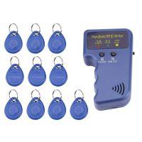 Handheld RFID EM4100 EM4200 chip cards copier duplicator