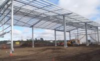 prefabricated steel structure warehouse china
