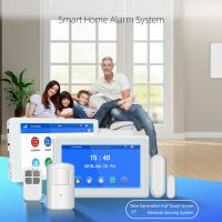 7inch Panel Home security alarm system support APP IP Camera multi languages