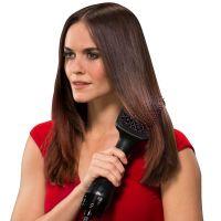Professional Hair Dryer Brush Multi Function Electric Hair Blow Dryer Brush Hot Air Hair Straightener Curls Comb Salon Styler