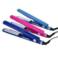 "Hair Straightener New Flat Iron Straightening Iron 1/4"" Titanium Alloy LED Display Styling Tools 5 Adjustable Temperature"
