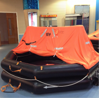 SOLAS Approval Throw overboard Inflatable Life Raft