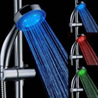 New Arrival LED Shower 3 Colors Change Bathroom Accessories High Pressure Shower Head