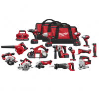 New Milwaukee 2695-15 M18 Li-ion 18 Volt 15 Tool Combo Kit
