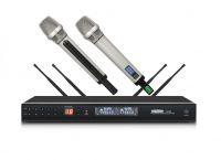 MC828 4-antenna true diversity remote distance wireless microphone