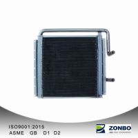 Aluminum Plate-fin heat exchanger for Loader
