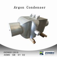 Heat exhchanger condenser for cryogenic engineering