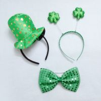 Wholesale Party Top Hat Headband St Patrick's Day Decoration