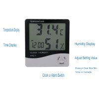 Indoor Thermometer Measuring Humidity Sensor Temperature Meter Weather Station Digital
