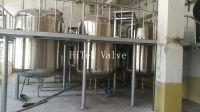 HT07 Stainless Steel Horizontal Vertical Storage Tank For Food Chemical Beverage Water juice Milk